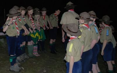 Scouts being invested