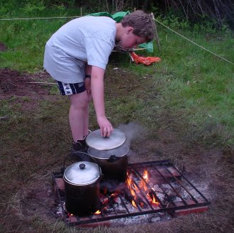 Scout Cooking