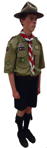 senior scout uniform